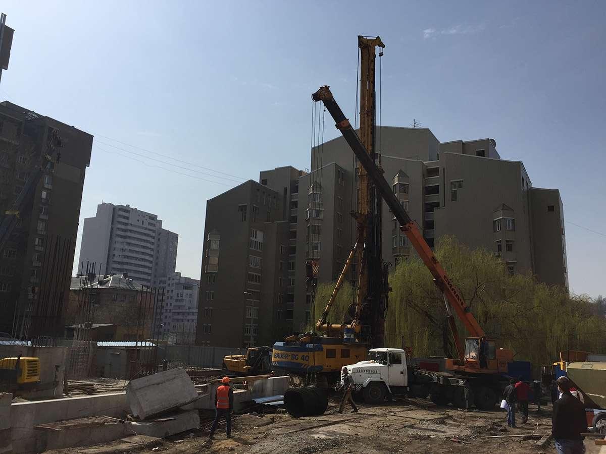 Процесс строительства New York Concept House 07.04.2016
