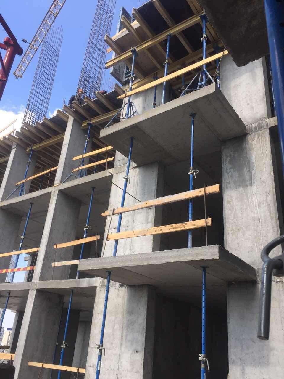 Процесс строительства 26.05.2017