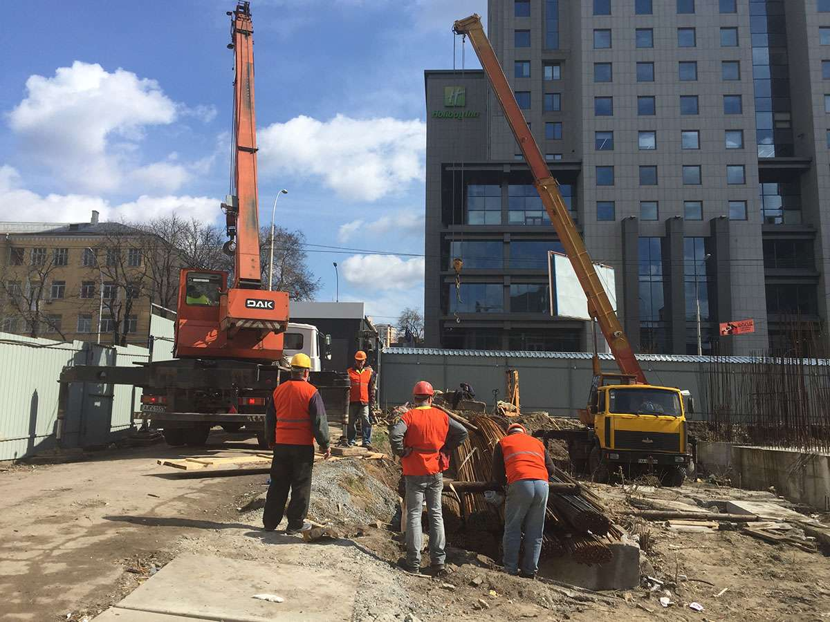 Процесс строительства 31.03.2016